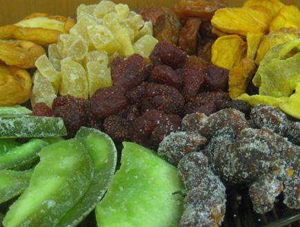 """פירות יבשים לט""""ו בשבט (צילום: עדי רם)"""