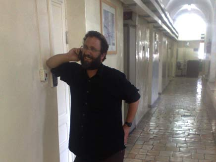 פעיל הימין הקיצוני פדרמן (צילום: יוסי זילברמן - חדשות 2)