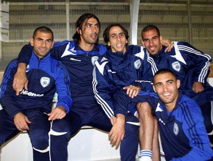 כוכבי נבחרת ישראל (צילום: מערכת ONE)