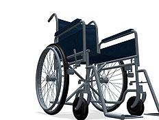 כסא גלגלים (צילום: Medioimages/Photodisc, GettyImages IL)