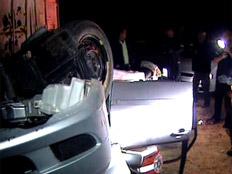 נהרג בהתהפכות רכבו. ארכיון (צילום: החדשות 2)