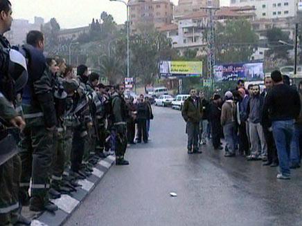 אום אל פאחם בוקר הבחירות (חדשות 2) (צילום: חדשות 2)