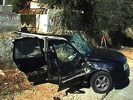 תאונת דרכים, הבוקר (צילום: חדשות 2)