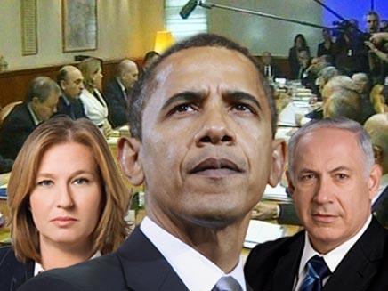 ברק אובמה, בנימין נתניהו וציפי לבני (צילום: חדשות 2 ורויטרס)