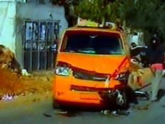תאונת דרכים ליד שילה (צילום: חדשות 2)