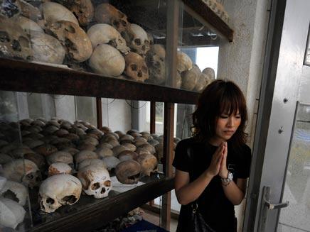 קורבנות אחמרוז' - קמבודיה (צילום: רויטרס)