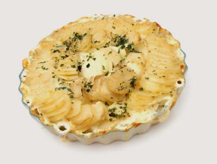 מאפה תפוחי אדמה וגבינה (צילום: istockphoto)
