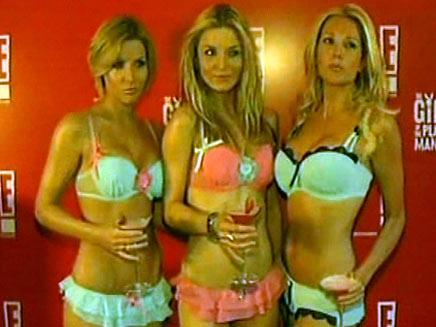 בנות פלייבוי (צילום: חדשות 2)