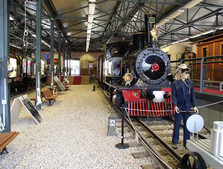 טיול בחיפה: מוזיאון הרכבת (יח``צ: איל שפירא,  יחסי ציבור )