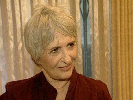 עליזה אולמרט מסיימת את תפקידה כגברת הראשונה (תמונת AVI: חדשות)