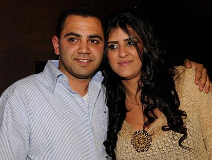 הזוג המאושר (צילום: רועי ברקוביץ')