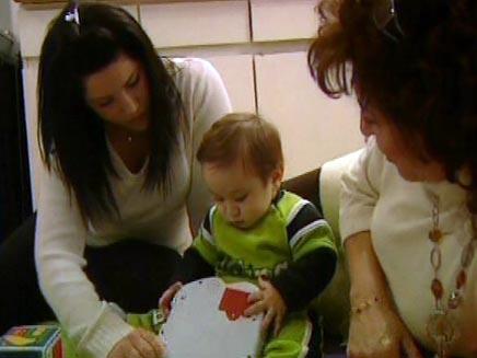 משפחה צעירה במיוחד (צילום: חדשות 2)