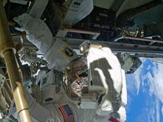 תחנת חלל של נאסא (צילום: רויטרס)