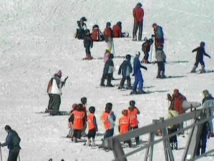 חופשת סקי לכל כיס (צילום: חדשות 2)