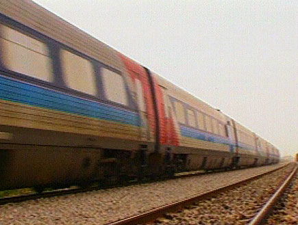סכנה: רכבת בלי בלמים (תמונת AVI: חדשות)