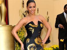 אוסקר 2009 ביונסה שמלה (צילום: אימג'בנק/GettyImages, getty images)