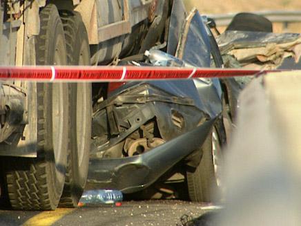 הרוג בתאונה קטלנית, ארכיון (צילום: החדשות 2)
