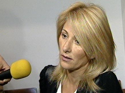 אהובה אלפרון בבית משפט (חדשות 2) (צילום: חדשות 2)