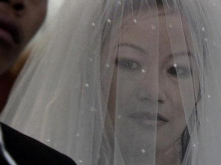 החתונה של דניאל ולביאה (צילום: חדשות 2)