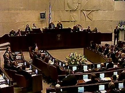 הכנסת תדון היום בהצעת החוק של ישראל ביתנו (צילום: חדשות 2)