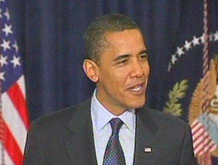 אומה מתכונן לנאום בקונגרס (תמונת AVI: חדשות)