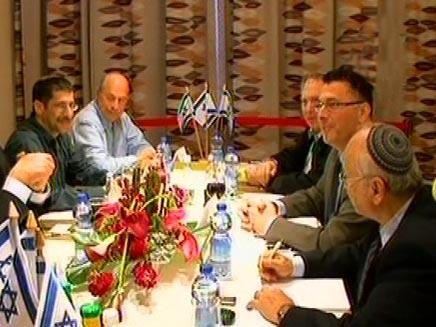 משא ומתן בין הליכוד לבין הבית היהודי (חדשות 2) (צילום: חדשות 2)