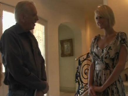 פאריס הילטון בראיון עם ארלה ברנע (צילום: חדשות 2)