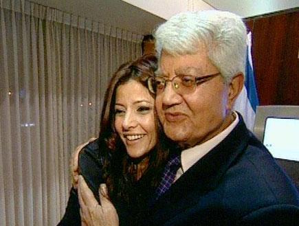 לבת אורלי כבר יש יועץ פוליטי משופשף (תמונת AVI: חדשות)