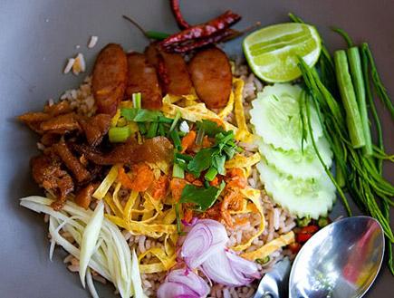אוכל תאילנדי (צילום: עדי רם)