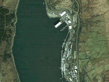 תמונה מ-Google Earth. אילוסטרציה (צילום: THE SUN)