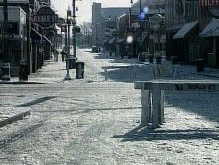 וושינגטון נצבעה לבן: סופת שלגים בעיר (תמונת AVI: חדשות)
