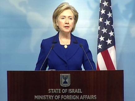 קלינטון מגנה את רצח השגריר (צילום: חדשות 2)