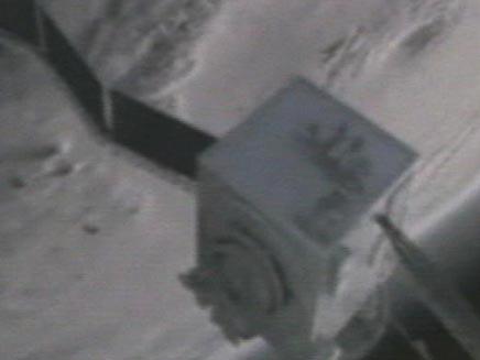 לווין בחלל (צילום: חדשות 2)