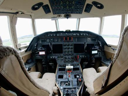 תא טייס, אילוסטרציה (צילום: רויטרס)