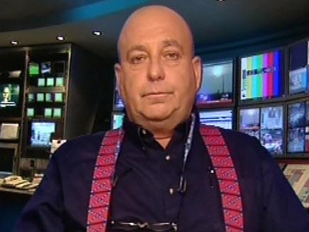בוקי נאה באולפן החדשות (חדשות 2) (צילום: חדשות 2)