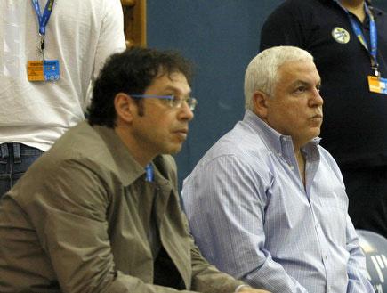 פיני גרשון, שרון דרוקר, גבעת שמואל, מכבי תל אביב (צילום: אמיר לוי)