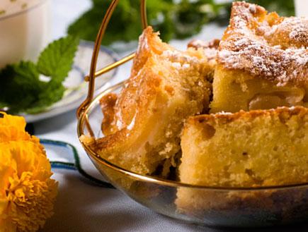 עוגת תפוחים (צילום: egiss, Istock)
