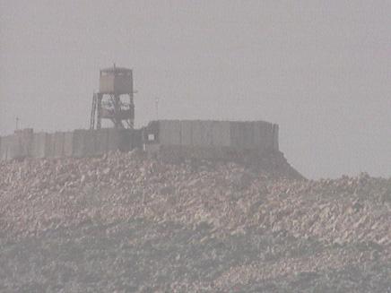 """מוצב צה""""ל בגבול לבנון (צילום: חדשות 2)"""