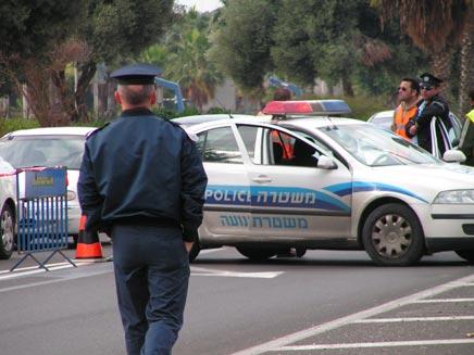 מדיניות נוקשה בכביש (צילום: חדשות 2 - אור גלזר)