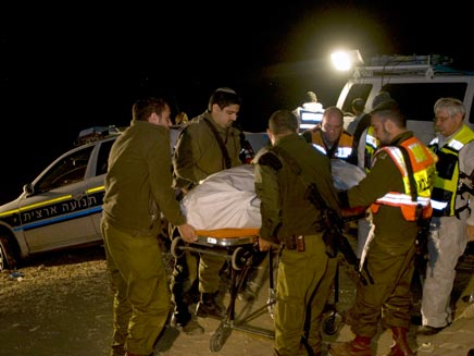 רצח השוטרים בפיגוע אמש (צילום: רויטרס)