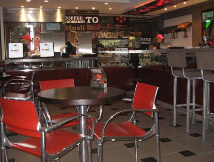 בית קפה marone rosso - סניף של ארומה בלימסול, קפריסין 2 (צילום: אביב אברמוביץ')