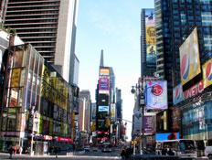 הטיימס סקוור בניו יורק (צילום: טל פרי)