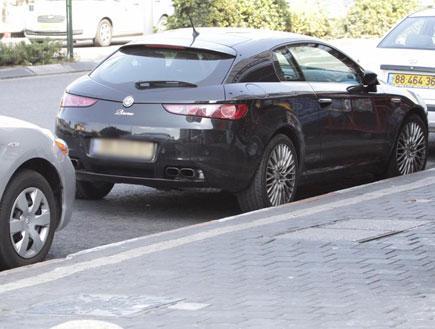 יהודה לוי, רכב חדש, פפראצי (צילום: אלעד דיין)