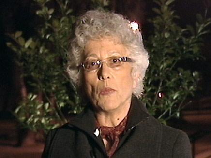 """מיקי גולדווסר אמו של אהוד שנחטף ונרצח ע""""י חיזבאללה (צילום: חדשות 2)"""
