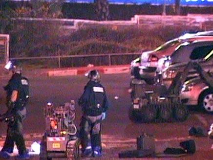 """מטען חבלה בלב ב""""ש. צילום ארכיון (צילום: חדשות 2)"""