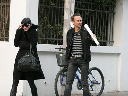 אסף אמדורסקי ודנה פרימן, פפראצי (צילום: שוקה כהן)