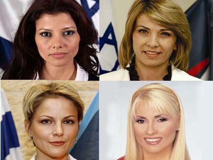 רוחמה, אנסטסיה, פנינה ואורלי (צילום: חדשות 2)