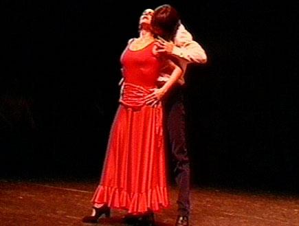 תשוקה ויצרים במופע כרמן (תמונת AVI: חדשות)