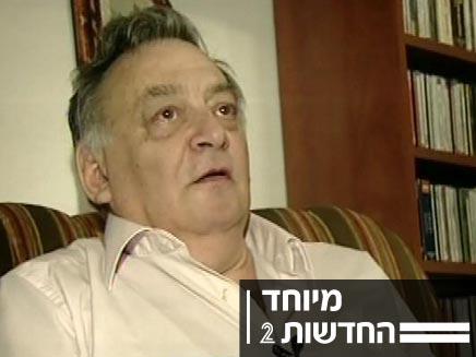 """ד""""ר שמעון שיבר מנהל ביה""""ס החשוד בהטרדה מינית (צילום: חדשות 2)"""