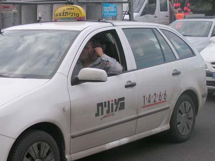 מונית. ארכיון (צילום: חדשות 2 - אור גלזר)
